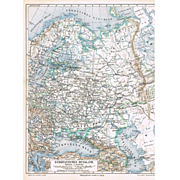 2 old Russia Maps from 1902