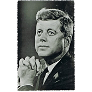 President John F. Kennedy. Early Photo