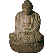Old Chinese wooden Buddha