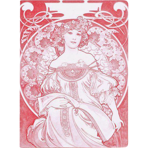 Mucha graphic