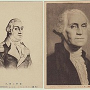 George Washington: Old Japanese Postcards