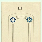 Art Nouveau Graphics, Three Authentic Drawings
