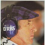 Jackie Stewart Autograph on Photo. 4 x 6. CoA