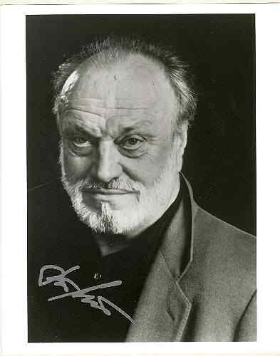 Kurt Masur authentic Autograph: 8 x 10 Photo. CoA