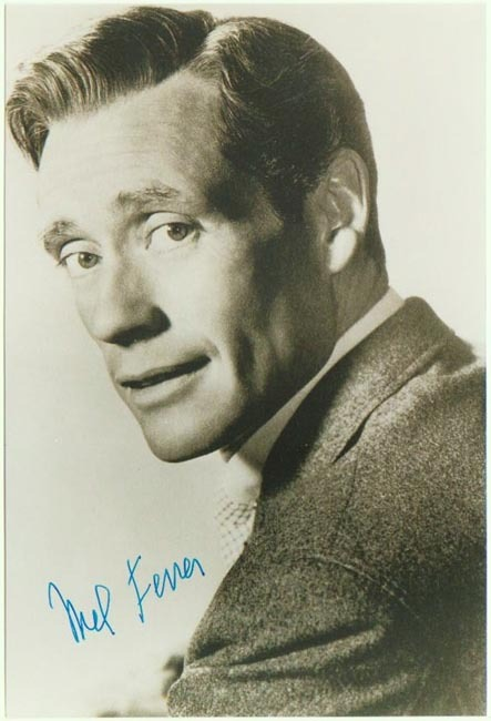 Mel Ferer Autograph: Hand-signed Photo. CoA