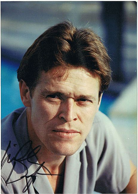 William Dafoe Autograph on Photo. CoA. Signed in Wien