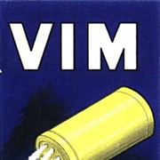 Vim. Poster Style Advertising for Detergent