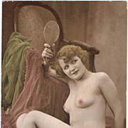 Tinted Risque Photo, app. 1910