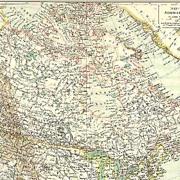 1906: Old Canada – British North America Map