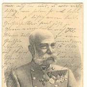 Emperor Francis Joseph I: Postcard from 1911