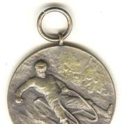 Old Medal: Toboggan Championship, 1927