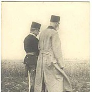 WWI: Emperor Francis Joseph and Conrad von Hoetzendorf