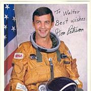 Don Peterson, Austronaut. Authentic Autograph, CoA