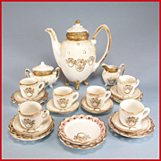 Complete China 23 Pc. Children's Tea Set including Cookie Plates