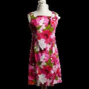 SALE Circa 1960s Reef Hawaii Cotton Sun Dress