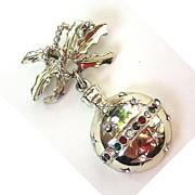 Christmas Ornament Pin/Brooch