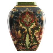"Royal Bonn Germany ""Old Dutch"" Floral Motif Vase c.1890-1923)"