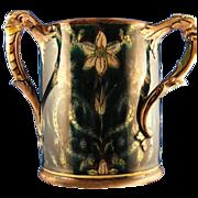 "Royal Bonn Germany Art Nouveau ""Old Dutch"" Handled Vase (c.1890-1923)"