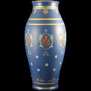 Large Villeroy & Boch Mettlach Germany Arts & Crafts Vase (c.1910)