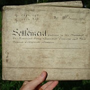 1828 Marriage Indenture John Girardot & Sophia Georgiana Chaplin