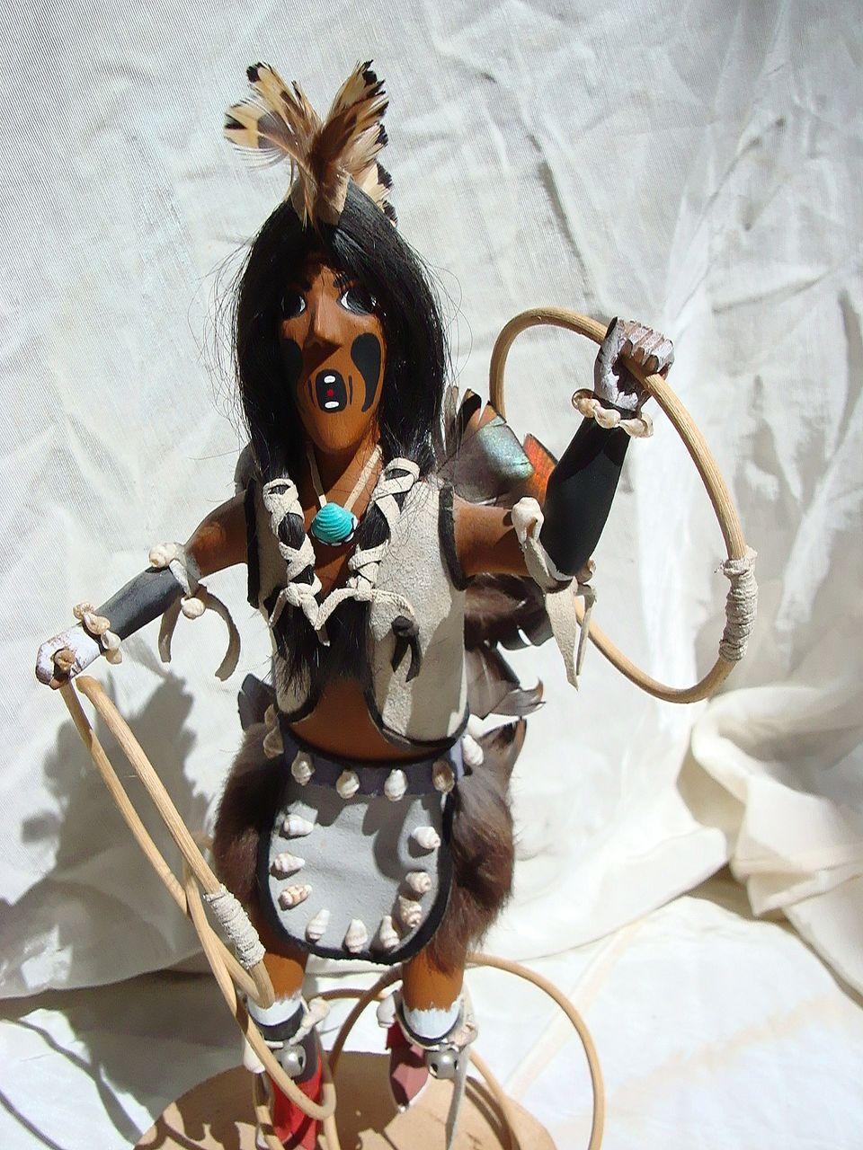 Hopi Kachina Doll by Raymond Parkett Hopi Dancer