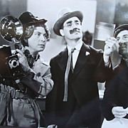 1940's Vintage Photo of the Marx Brothers