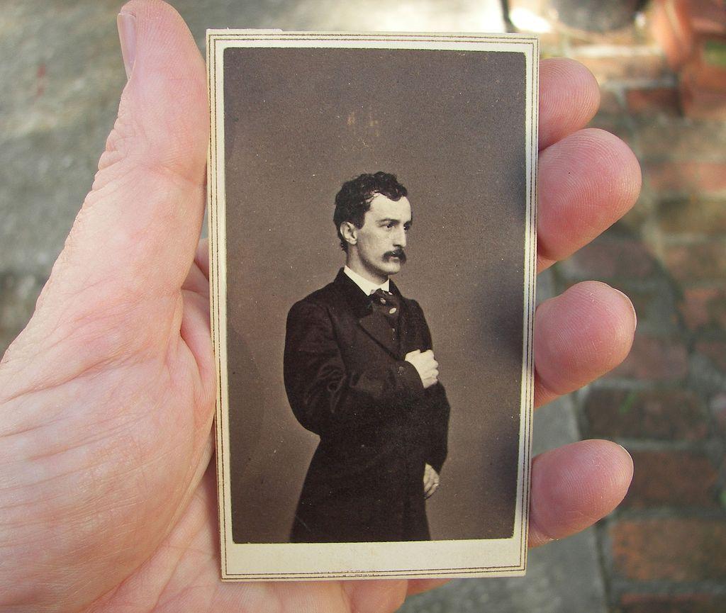 1862 Original CDV Photo of John Wilkes Booth