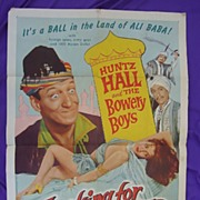 1957 Original Movie Poster Bowery Brothers Looking For Danger