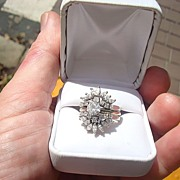 Spectacular 14kt. Gold Diamond Wedding Ring w/Appraisal