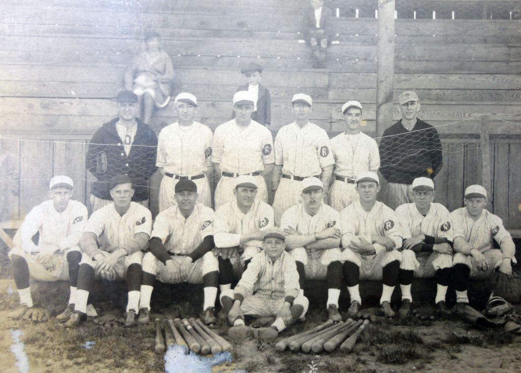 Early Richwood,West Virgina Baseball Team Photograph