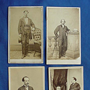 Santo Domingo Slavery Commission to Abraham Lincoln Civil War cdv Photos