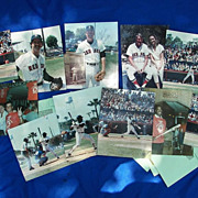 1986 Boston Red Sox Autographed Photo Archive Winter Haven,Florida