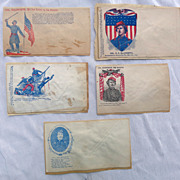 Original Civil War Colonel Ellsworth Patriotic Covers