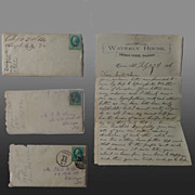 Civil War Virginia Reconstruction Letters Thomas W.Going