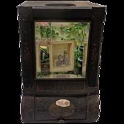 Gunpowder Tea General Store Tin Display of WW Crawford of Denver,Colorado