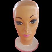 Groovy mannequin head from the old Elder-Beerman department store located in Cincinnati,Ohio. c.1960's