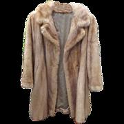 GORGEOUS Mink Fur Coat from Broadway Singer
