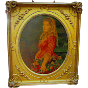 Spectacular Gold Victorian Court Frame ready for a Masterpiece