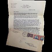 Roberta Lathrop Monk Rockford,Ill Letter: Bootleggers, Herbert Hoover. Bull Moose,Hissing Gees
