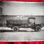 1907 Tree Tea Delivery Truck Photograph Concord,Ca.