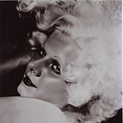 "Silver Screen Actress, Jean Harlow "" Blonde Bombshell""  1930's"