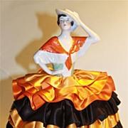 Carmen 1920's half-doll