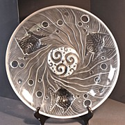 Verlys-American Art Deco Sun Fish Charger