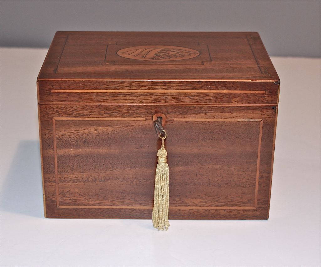 Late 18th Early 19th Century English Tea Caddy