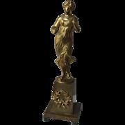 19th Century Bronze Statue in the Empire Style
