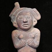 Museum Antiquity! Pre Columbian Child's Rattle