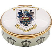 1980 – 1999 Bilston And Battersea Halcyon Days Enamel Cayman Island Box