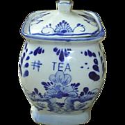 Delft, Holland Tea Caddy