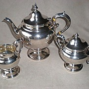 "Gorgeous ""Birks"" Sterling Silver Tea Set"