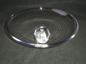 Stunning Baccarat Clear Glass Compote